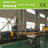 Double stage PP PE HDPE flakes plastic pelletizing line/granulating machine