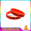 Secure Debossed Logo Single Color New Design Custom Silicone Bracelet