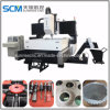 High Speed Vertical CNC Water Cooling Steel Boiler Drilling Machine