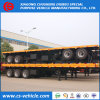 China Manufacturer Dimensions of 12m 40FT 30ton Low Bed Semi Trailer on Sale