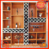 High Quality Indoor Wooden Wine Display Rack for Store
