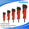 Excavator Attachment Bucket Hydraulic Breaker, Rock Hammer