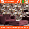 Space PVC Deep Embossed Wall Paper with Catalogue