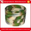 Debossed Logo Camouflage Silicone Wrist Band