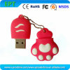 Hot Sale Valentine Cute PVC Customized Pendrive USB Flash Drive (ES100)