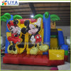 Inflatable Mickey Bouncer Bouncy Castle with Slide for Party