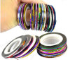 Rolls Striping Tape Line Nail Line Art Decoration Sticker
