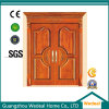 Customize Interior Solid Wooden Doors with Glass