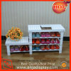 Wooden Shoe Display Racks for Store