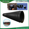 Large HDPE Steel Strip Reinforced Polyethylene Plastic Corrugated Pipe