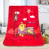 Children Cartoon Print Super Soft Flannel Children Blanket