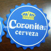 Bottle Cap Shaped Coaster (ASKQ-COS-009)
