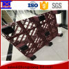 Guangzhou Factory Transport Warehouse Plastic Pallet with Rail