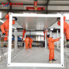 Luxury Prefabricated Mobile Prefab Living Portable Office Steel Frame Tiny Moveable Warehouse