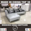 Miami Modern Corner Leather Sofa with Stainless Legs