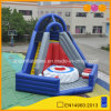Outdoor Inflatable Sports Toy Target Jump Game with Air Bag (AQ01671-2)