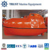 Enclosed Fiberglass Ship Free Fall Lifeboat for Sale