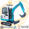 2ton Sunward Mini Excavator with CE Certificate and 24 Month Guarantee