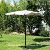 Rectangle Steel Umbrella with Tilt