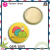 fashion and Beautiful Round Tin Pocket Mirror