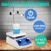 Lab Hotplate Magnetic Heated Stirrer Dual Controls