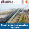 Long Distance Rubber Fixed Belt Roller Conveyor