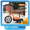 48V 500W Mobility Three Wheel Scooter Folding Electric Zappy Vehicles for Disabled