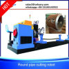 Power Plant Engineering Steel Tube Cutting Machine with Flame Plasma Cutter Heads Kr-Xy5