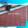Qualified Density Solid Color Dog Bone Rubber Paver