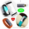 Factory Price Hot Sell Wearable BLE 4.0 Smart Wrist Band M3
