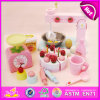 2015 Fun and Enjoyable DIY Handmade Toy for Kids, DIY Wooden Cake Making Props Toy, Cute Design Wooden DIY Kitchen Set Toy (W10D013)