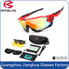 2015 Newest Design Cycling Outdoor Activity Sport Sunglasses Unbreakable Interchangeable 3 Lens