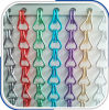 Hot Sale Colored Aluminum Door Window Chain Link Fly Curtain