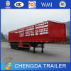 China Supplier 3 Axle Size Optational Box Cargo Semi Trailer
