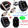 IP67 Waterproof 1.54 TFT Touch Screen Elderly GPS Tracker Watch Y12