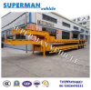 China Container Transport Lowbed Trailer