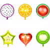New Arrival Fashion Style Different Fruits Balloons