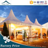 Germany Style 4m * 4m Pagode Zelt Family Garden Rainproof Fabric Tent