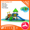 Commercial Outdoor Playground Kids Plastic Sliding Board