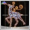 New Product 2D Reindeer Decorative LED Christmas Motif Light