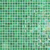 Mini 10*10mm Color Ice Jade Glass Mosaic Tile Sheets Bathroom Wall Decoration