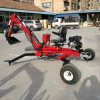 9HP Small Garden Tractor Loader Backhoe, Mini Tractor Backhoe Loader, Cheap Backhoe Loader
