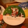2020 3D Santa Snow Christmas Cards