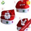 Christmas Santa Red Hat Cozy Soft Warm Adult Kid Unisex Santa Claus Cap Headgear