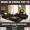 New Arrival 2017 Living Room Leather Sofa with Fine Sewing