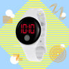 Made in China Design Ultra Thin Sports Silicone Digital Unisex LED Watch