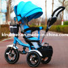 New Aluminum Alloy Frame Children Tricycle Kids Trike Baby Tricycle