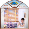 Home decoration High Quality Faux Wood Venetian Blind Window Shutter