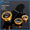 3 in 1 Lens Universal Clip Camera Lens Fish Eye, Wide Angle, Macro for iPhone 4/5/6/6 Plus
