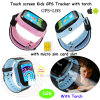 1.44'' Touch Screen Kids GPS Tracker Watch with Torch D26